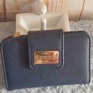 Nanette Lepore Navy Blue Wallet NWOT